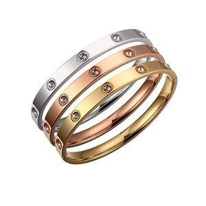 Love Swarovski Crystals Bracelet Set